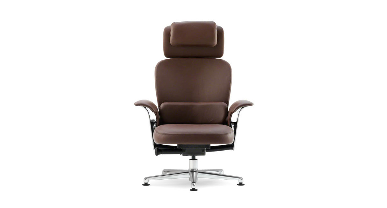 upper back force lets you set the ideal amount of resistance - Steelcase Leap Chair