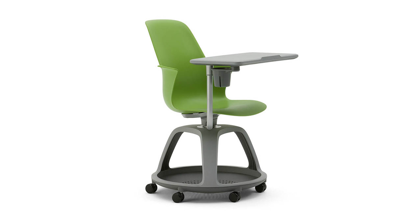 Base Has E For Storage To Keep Learning Materials Off The Floor Steelcase Node Chair Swivels