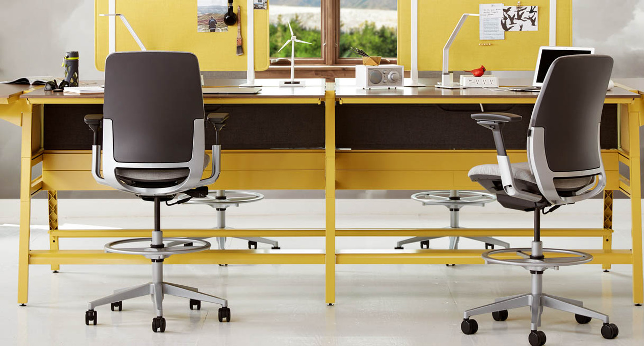 office drafting chair. Standard Armrests Are Fully Adjustable On The Steelcase Amia Drafting Chair Office
