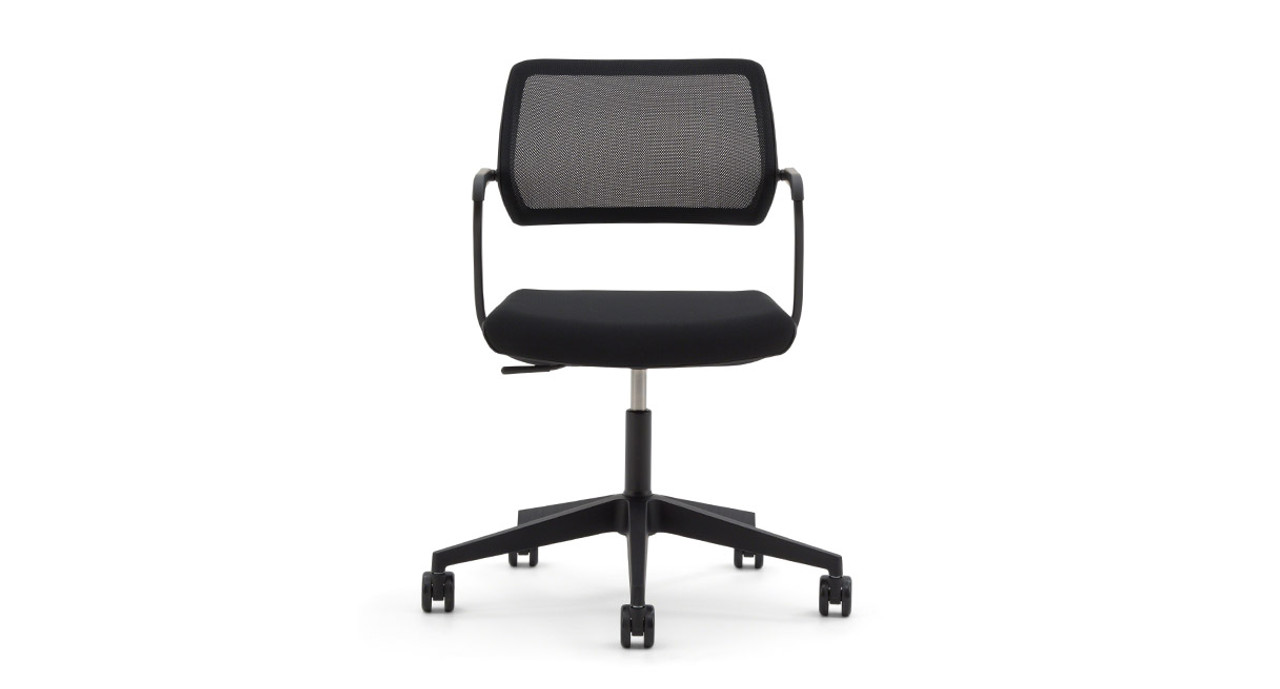 pivoting backrest and optional gliding seat move automatically as you move - Steelcase Office Chairs