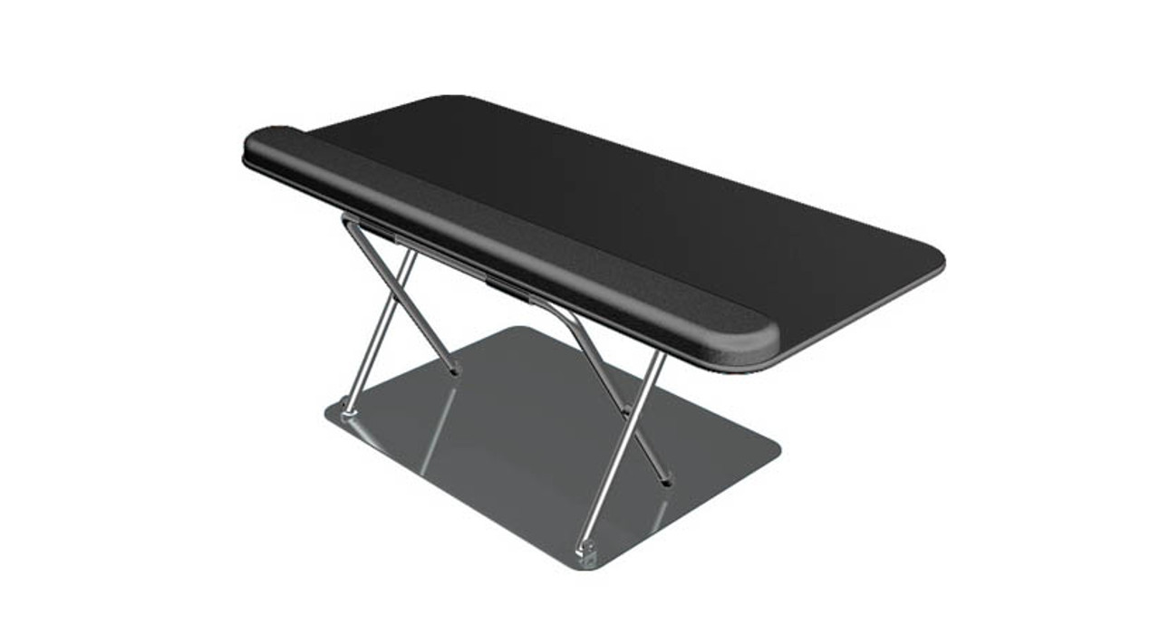 Desktop Keyboard Riser For Users Who Canu0027t Mount A Traditional Keyboard  Tray Under Their