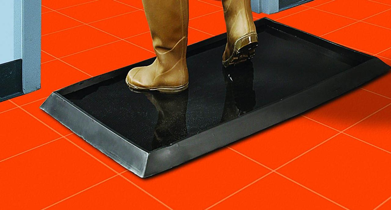 Wearwell 222 Sanitizing Footbath Mats Shop Wearwell Mats
