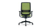 The Steelcase Reply Mesh Task Chair offers easy handle access for adjustability.