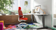 Choose from a collection of vibrant Steelcase upholstery options