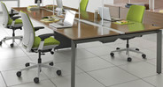 The Steelcase Amia Chair is a great addition for conference rooms or meeting spaces