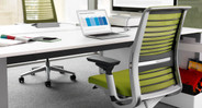 Adjustable dual-energy lumbar support can be adjusted up and down for added support