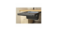 """Mounts to any standing desk or traditional desk with 23.375"""" depth clearance underneath"""