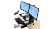 Modify your existing desk into a healthy and comfortable sit to stand workstation