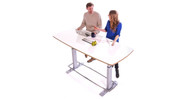 Offer a work culture that encourages employee comfort and health by adjusting your meeting to a standing position