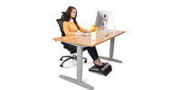 Go Ahead. Put Your Feet Up: The E3 Adjustable Footrest