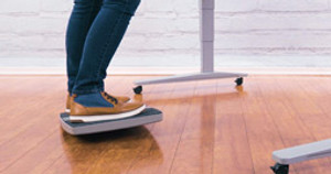 The Fit Motion Board by UPLIFT Desk: Letting Users Fine-Tune Their Tilt Levels Since 2018