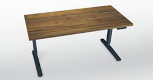Chic in Teak: Reclaimed Wood for Your UPLIFT Standing Desk