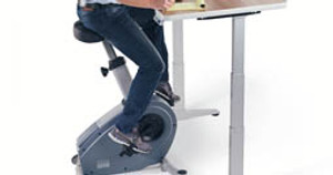 Ergonomic Desk Review: The Benefits of the UPLIFT Bike Desk