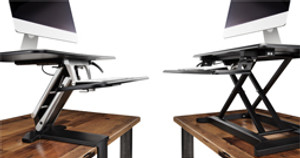 OutStanding New Desk Converters by UPLIFT Desk