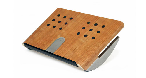 : wood foot rest