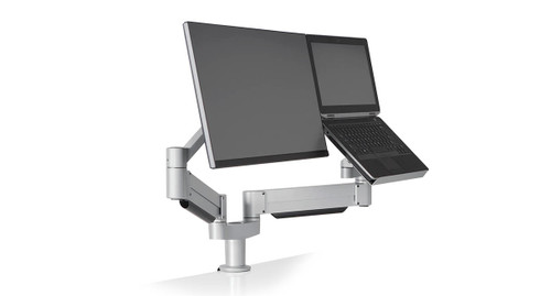 Innovative 7050 Height-Adjustable Laptop & Monitor Mount