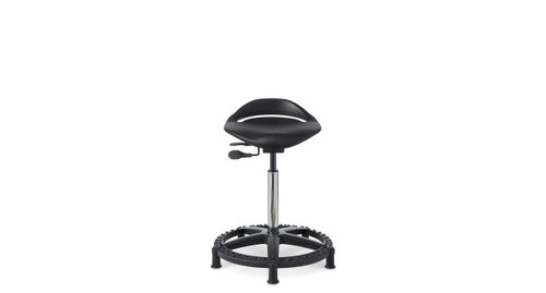 Office Master WS16 Sit To Stand Work Stool