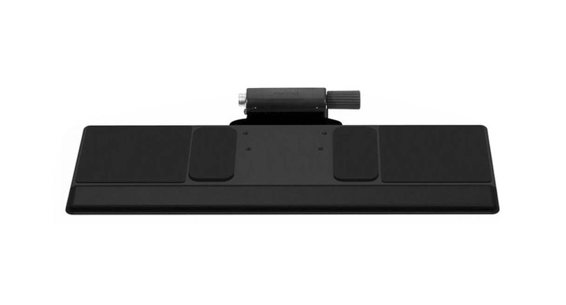 The Humanscale 500 Big Keyboard Tray is easily configured to meet specific needs