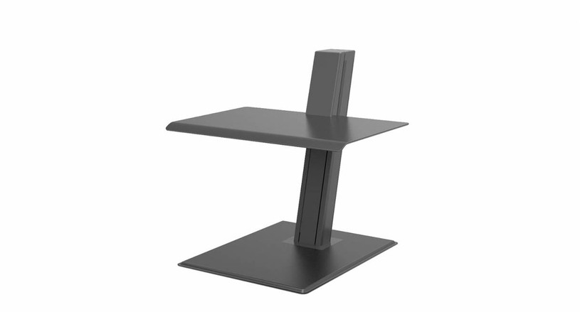 The Quickstand Eco Height Adjustable Workstation allows you to position your laptop where it's most comfortable for your body