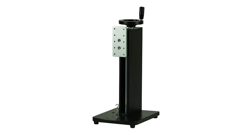 Shimpo's FGS-250W Hand Wheel Operated Test Stand features a compact design and a small footprint