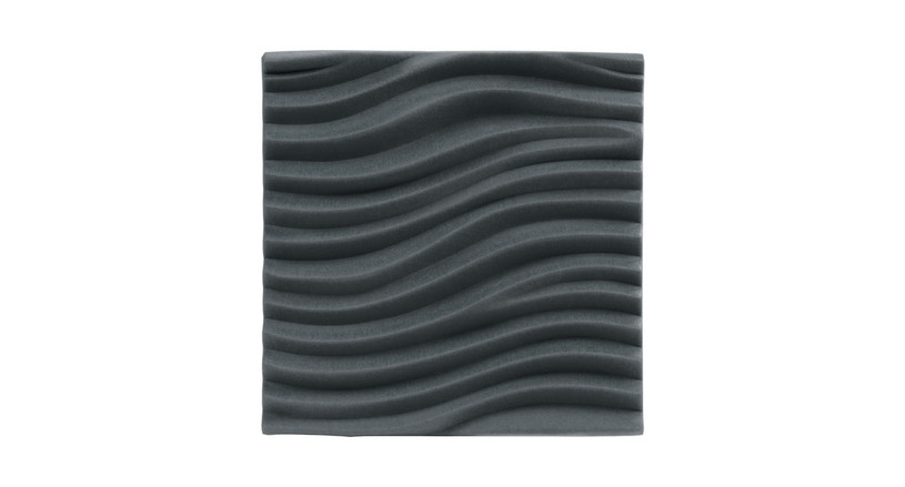3D Wave Acoustic Wall Panels by UPLIFT Desk help you create a more sound-sheltered workspace