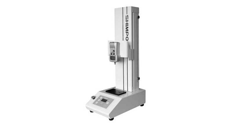 The Shimpo Vertical Test Stand has a 110-pound capacity.