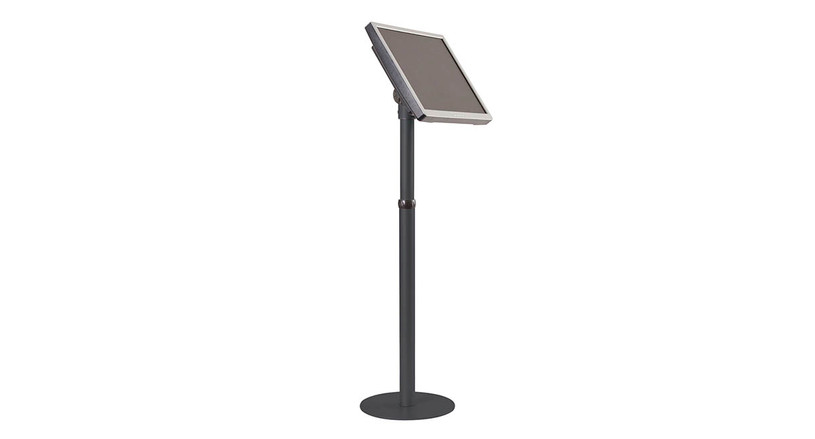 Angle and height adjustable for comfortable viewing