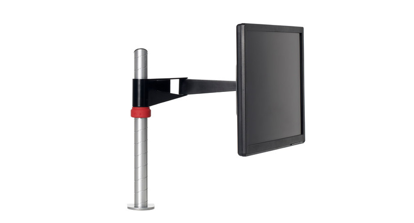 Durable construction supports displays up to 50 lbs