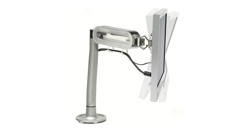 Built-in counterbalance tool so the user can easily counter-balance the monitor