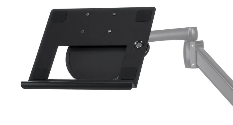 the UPLIFT Laptop Mount allows you to use your laptop elevated, or as a second display