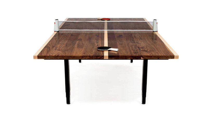 "The UPLIFT Sit-Stand Conference Room and Ping-Pong Table delivers 25.5"" of height adjustment"