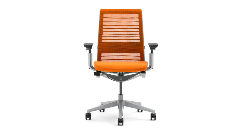 The Steelcase Think Chair with 3D Knit Back comes in a wide variety of colors