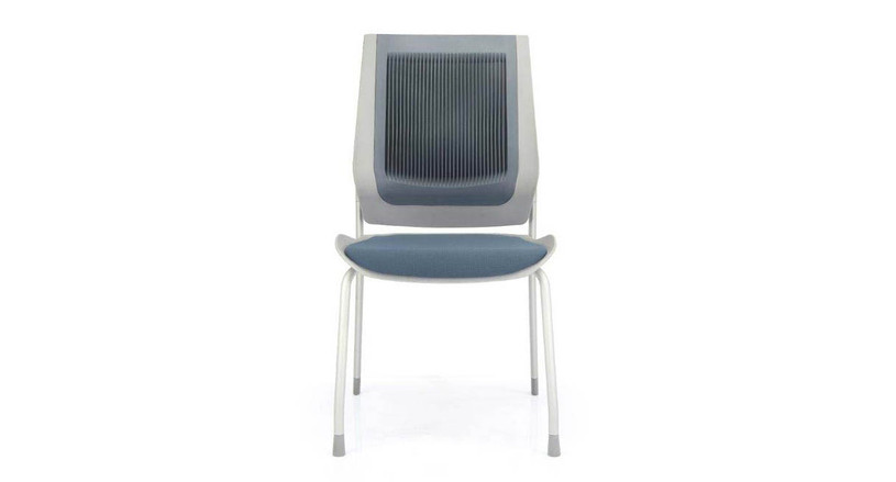 Padded seat supports the spine and pelvis