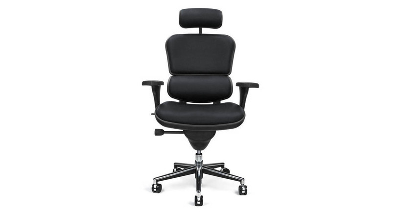 One-touch adjustment lever for quick height, seat depth, and back recline