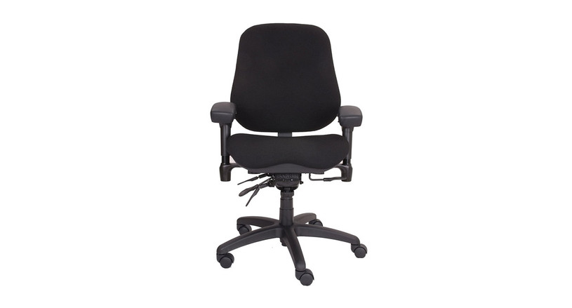 "The BodyBilt 2507 High Back Executive Chair's delivers backrest angle adjustment and 4"" of height adjustment"