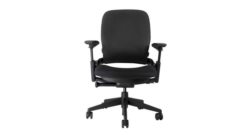 Responsive LiveBack technology lets the chair back flex as you move to provide constant back support