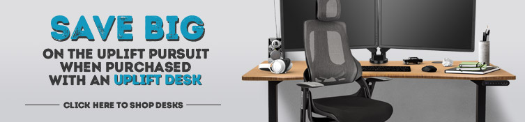 new product 2406b 28c43 Pursuit Ergonomic Chair by UPLIFT Desk | Shop Office and ...