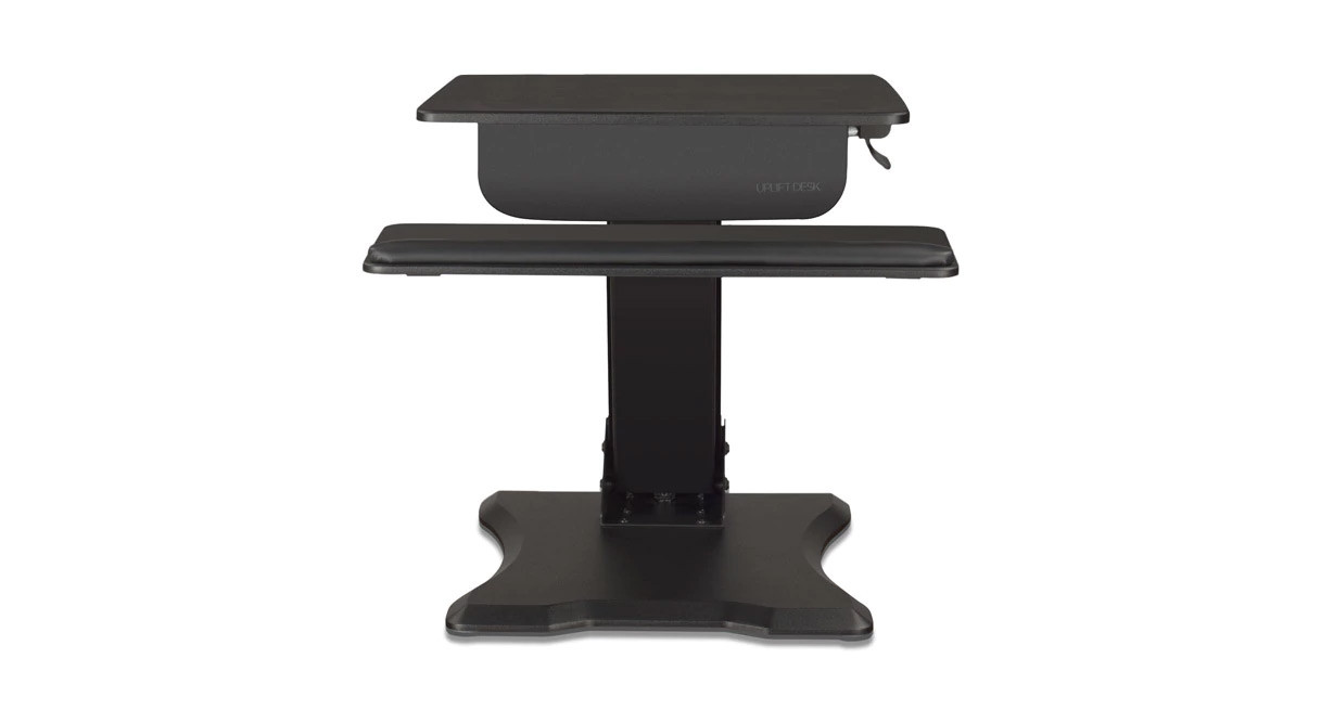 the uplift adapt height adjustable standing desk converter is the answer to all your workstation woes - Height Adjustable Standing Desk