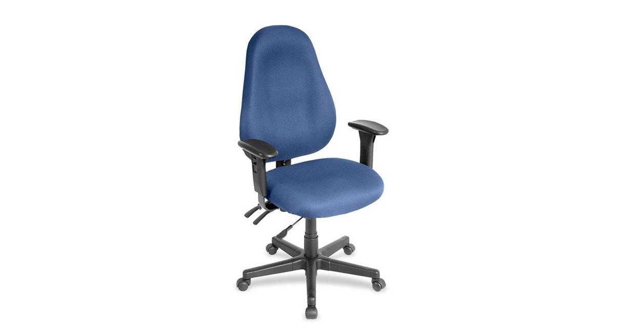 Eurotech Slider High Back Chair- Slider 1701 (w/ sliding seat)