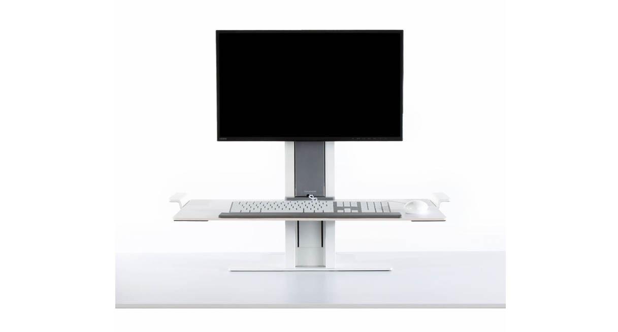 Humanscale Quickstand Adjustable Workstation Single Monitor