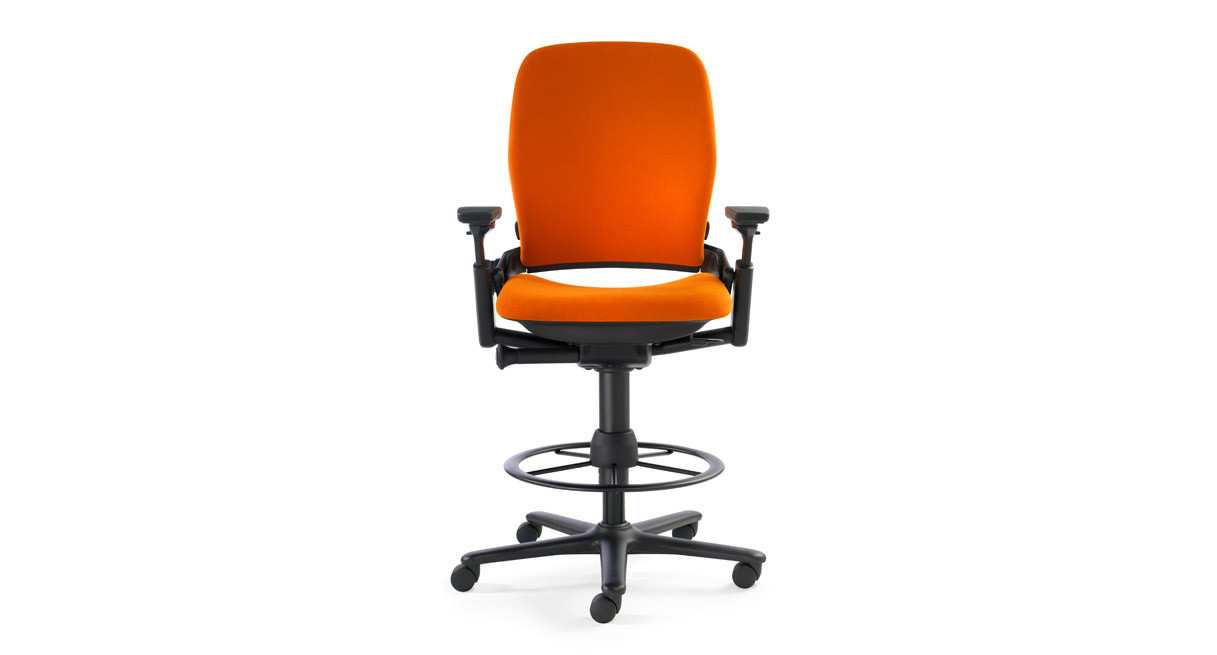 Steelcase Leap Drafting Stool Human Solution