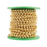 Ball Chain -  3.2mm - Brass