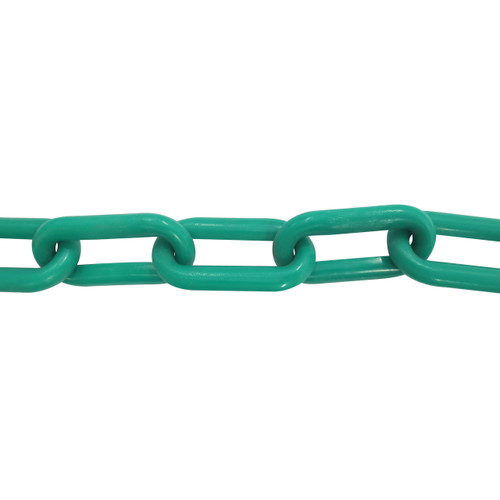 Plastic Chain 6mm Green