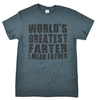 World's Greatest Farter/Father Father's Day Dark Heather T-Shirt