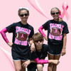 Tackle Breast Cancer Black T-Shirt