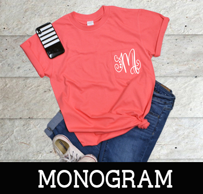 Custom And Monogrammed T Shirts And Accessories Delivered