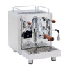 BEZZERA DUO PID e61 Lever 0.45/1.0 litre Rotary Pump Tank and/or Plumbed Espresso Coffee Machine - Eureka Atom Chrome Doser-less Coffee Grinder Combo - With Free Extras