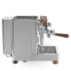 Lelit PL162T Bianca e61 Lever PID 0.8/1.5 litre Rotary Pump Tank or Plumb - Wooden - Eureka Atom Chrome Combo - With Free Extras