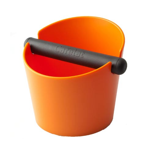 Cafelat Tubbi Large Coffee Knock Box Orange