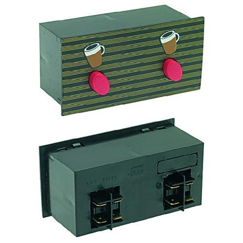 Push-Button Panel 2 Buttons ASTORIA 18371018